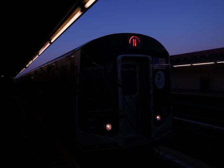Number 7 train, New York