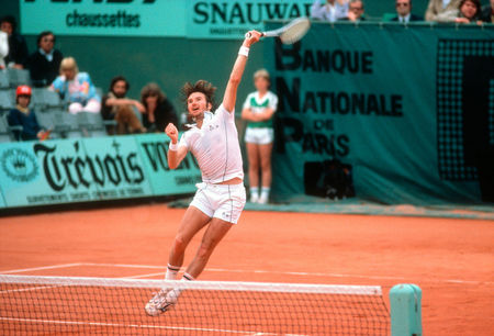 Jimmy Connors, French Open, 1981