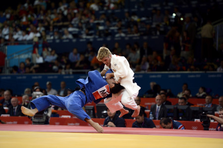Men's Judo - 73kg. Class. 