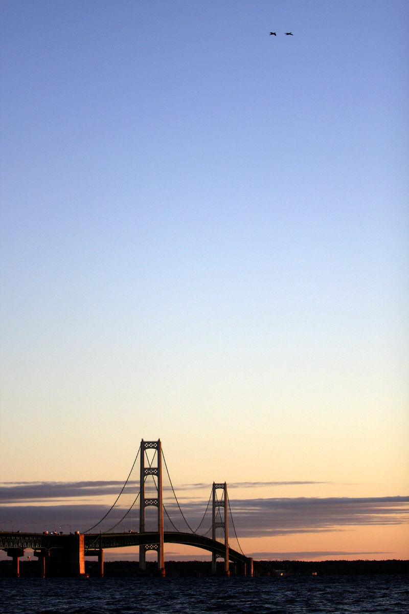 Mackinac Bridge, Straits of Mackinac, Michigan