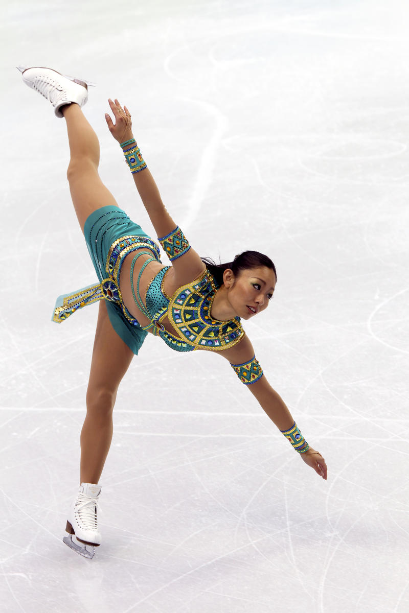 Miki Ando,  Japan - Silver Medalist, Women's Skating
