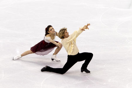 Merrill Davis and Charlie White, Ice Dancing