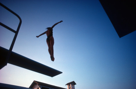 Diving practice, 